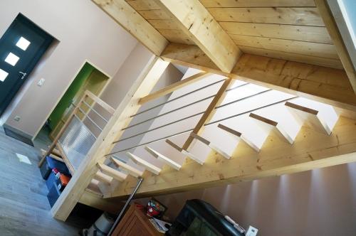 charpente bois mezzanine